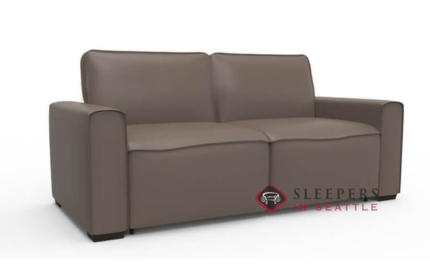 Palliser My Comfort Lullaby Leather Sleeper Sofa (Full)