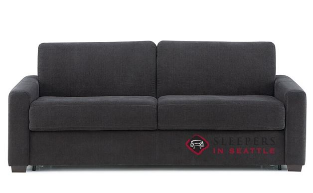 Palliser Roommate My Comfort Sleeper Sofa (Queen) in Heavenly Caviar
