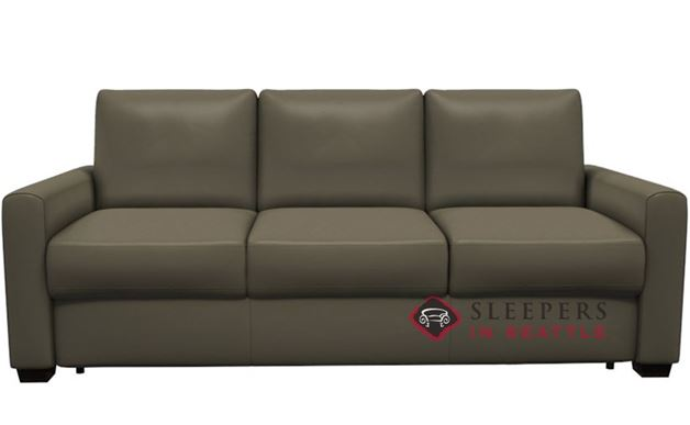 Palliser Roommate My Comfort 3-Seat Leather Sleeper Sofa (Queen)