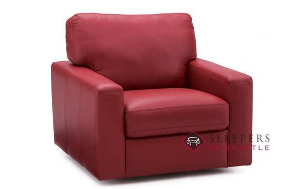 Palliser Westend Leather Swivel Chair
