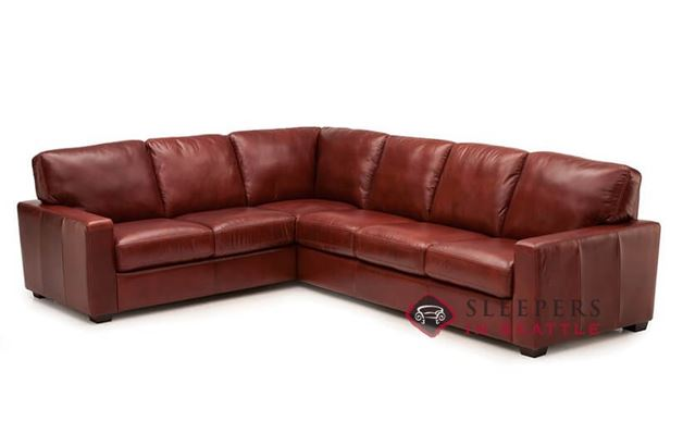 Palliser Westend Leather True Sectional Sofa