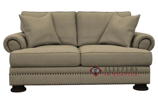 Bernhardt Foster Loveseat with Down-Blend Cushion