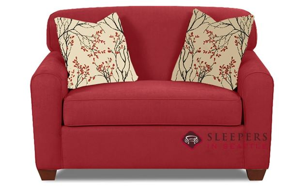 Savvy Zurich Sleeper in Willow Blaze Red (Chair)