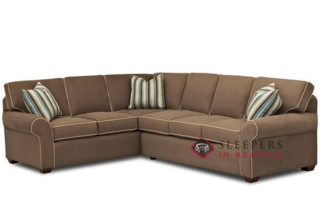 Seattle True Sectional Sleeper Sofa by Savvy