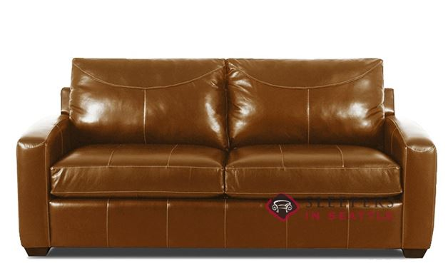 Savvy Boulder Leather Sleeper in Durango Acorn (Full)