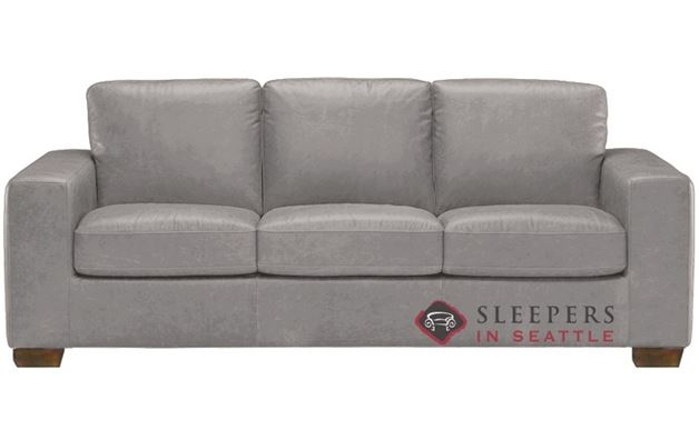 Natuzzi B534 Sleeper in Denver Medium Grey (Queen)