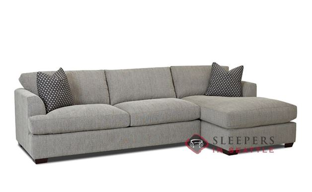 Savvy Berkeley Queen Chaise Sectional Sleeper Sofa