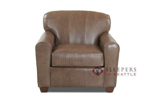 Savvy Zurich Leather Arm Chair