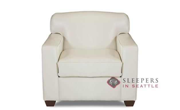 Savvy Geneva Leather Arm Chair in Durango Oatmeal