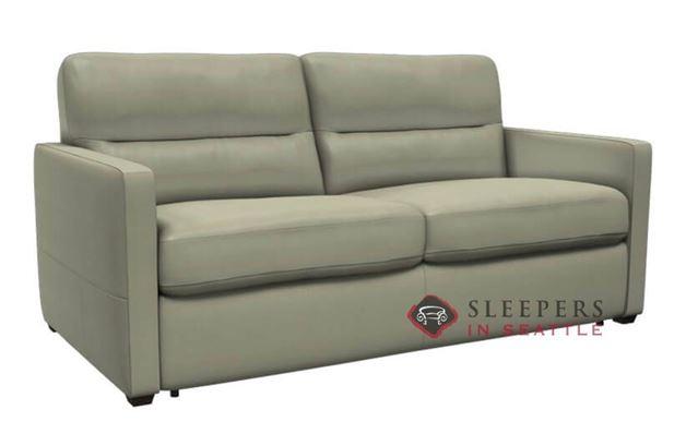 Natuzzi Editions Conca Leather Studio Sofa (C010-009)