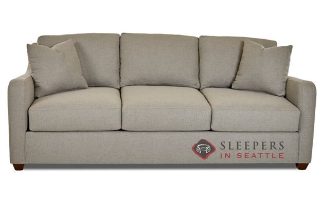 Savvy Glendale Queen Sleeper Sofa in Lucas Ash
