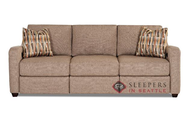 Savvy Glendale Dual Reclining Sofa in Shack Pewter