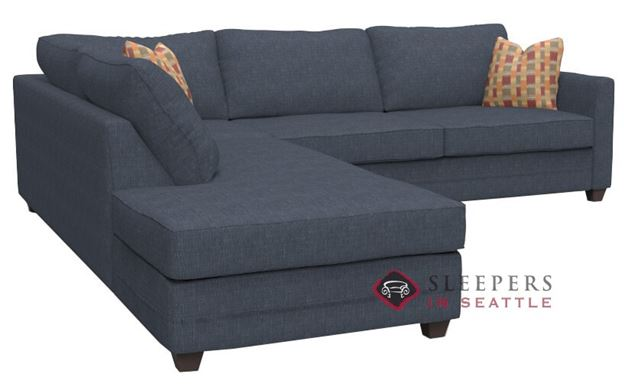 Savvy Valencia Large Chaise Sectional Sleeper Sofa (Queen)