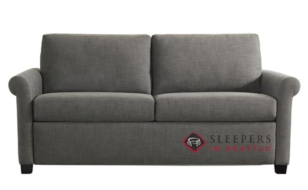 American Leather Paige Comfort Sleeper --Silver