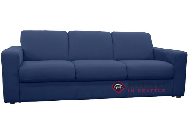 Natuzzi Editions B764 Fabric Sleeper in Maestrale Navy (Queen)