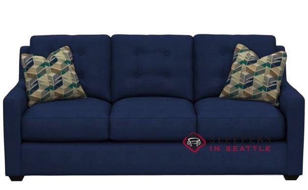 Savvy Green Bay Queen Sleeper Sofa in Ranger Twill Blue