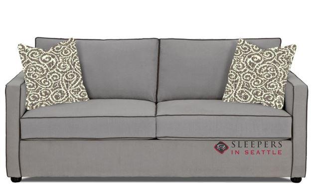 Savvy Portland Sleeper Sofa in Brookside Grey