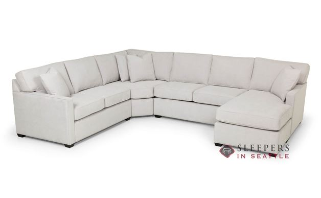 Stanton 387 U-Shape True Sectional Queen Sleeper Sofa