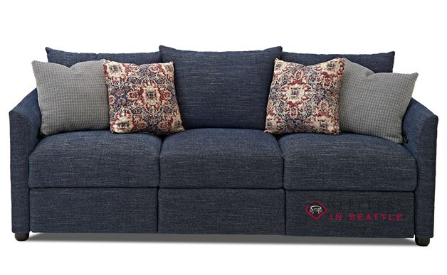 Savvy Aventura Power Reclining Sofa in Curious Eclipse