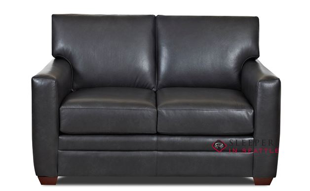 Savvy Bel-Air Leather Loveseat