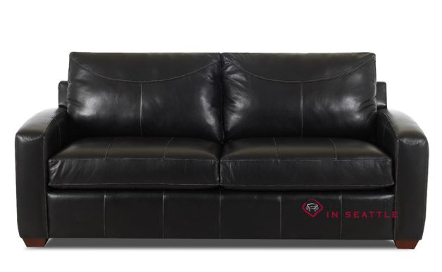 Savvy Boulder Leather Sleeper in Durango Black (Full)
