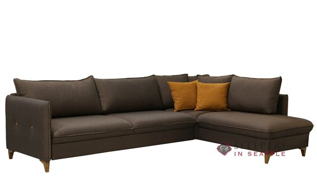 Luonto Pepper Chaise Sectional Full XL Sleeper Sofa