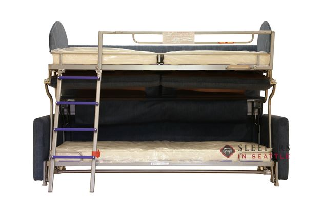 Luonto Elevate Bunk Bed Sleeper Sofa Open