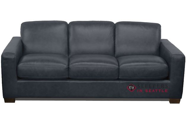 Natuzzi B534 Sleeper in Neptune Dark Blue (Queen)