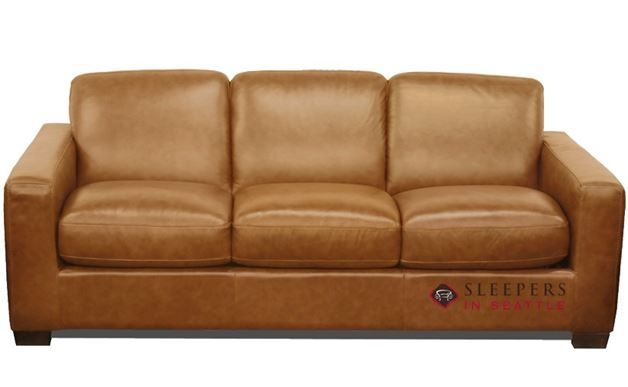Natuzzi B534 Sleeper in Urban Camel (Queen)