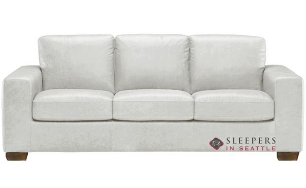 Natuzzi B534 Sleeper in Urban White (Queen)