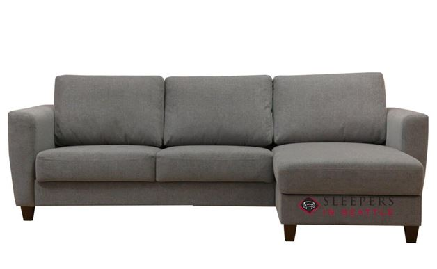 Luonto Flex Loveseat Chaise Sectional Sofa in Lens 212