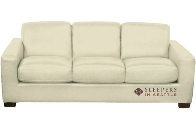 Natuzzi B534 Sleeper in Urban Crema (Queen)