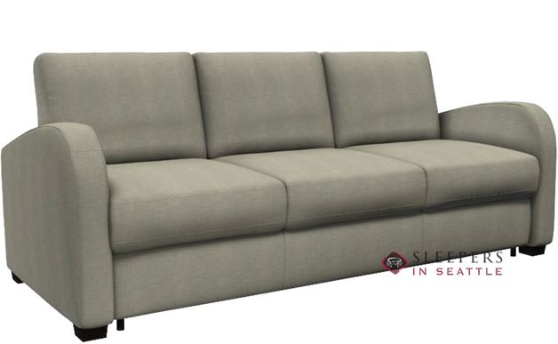 Palliser My Comfort Daydream 3-Cushion Sleeper Sofa in Key Largo Pumice (Queen)