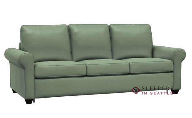 Palliser Swinden CloudZ Queen Top-Grain Leather Sleeper Sofa