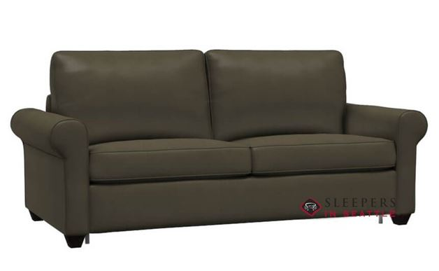 Palliser Swinden CloudZ Full Top-Grain Leather Sleeper Sofa