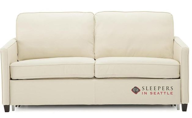 Palliser California CloudZ Full Top-Grain Leather Sleeper Sofa