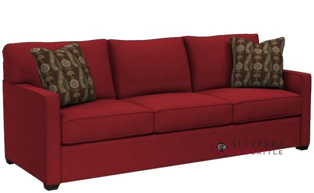 Stanton 287 Queen Sleeper Sofa in Bennett Red