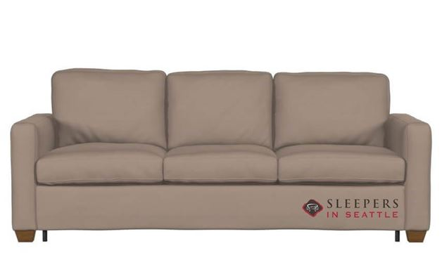 Palliser Kildonan CloudZ Queen Top-Grain Leather Sleeper Sofa