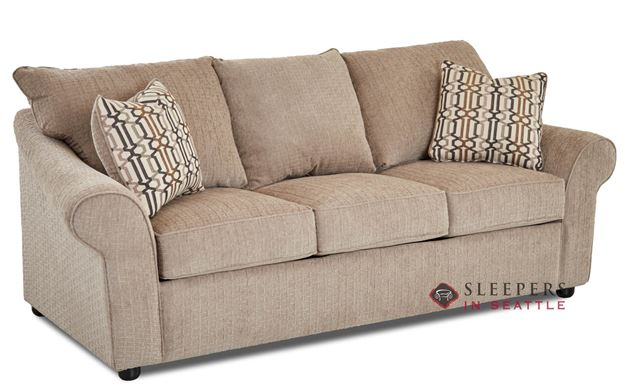 Savvy Fairview Queen Sleeper Sofa Sideview