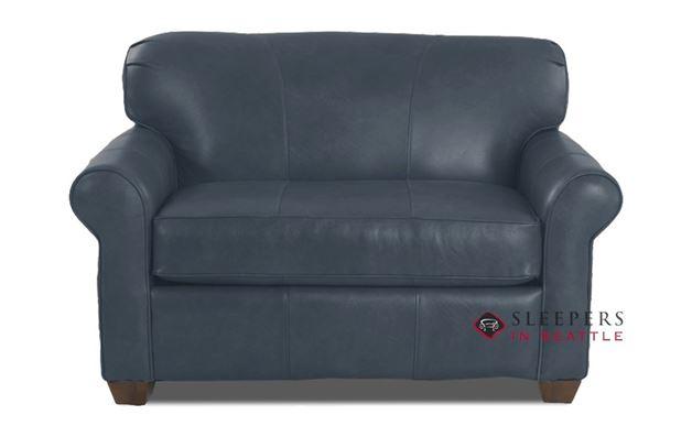 Savvy Calgary Sleeper (Chair) in Endura Pacific Leather