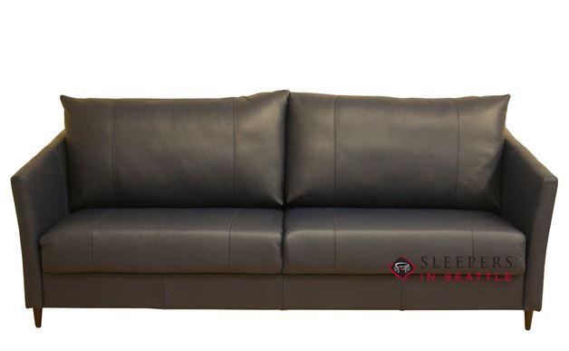 Luonto Erika King Leather Sleeper Sofa
