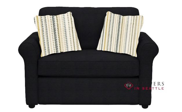 Savvy Ottawa Chair Sleeper Sofa in Attire Charcoal