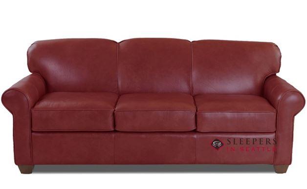 Savvy Calgary Sleeper (Queen) in Mendoza Henna Leather