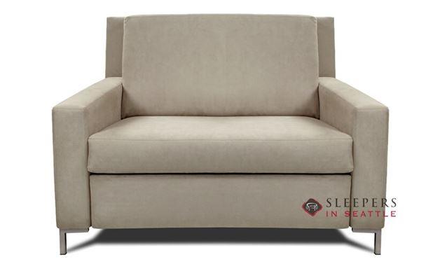 American Leather Bryson Leather Twin Comfort Sleeper