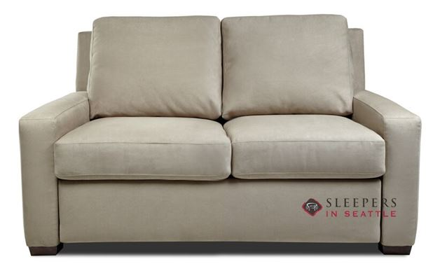 American Leather Lyons Leather Full Comfort Sleeper