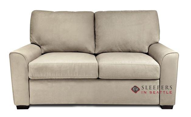American Leather Klein Leather Full Comfort Sleeper