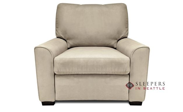 American Leather Klein Leather Chair Comfort Sleeper
