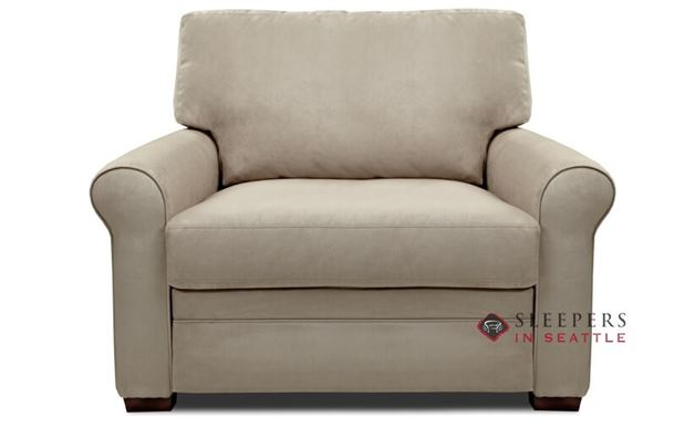 American Leather Gaines Low Leg Leather Twin Comfort Sleeper