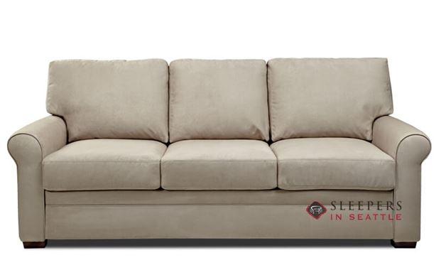 American Leather Gaines Low Leg Queen Plus Comfort Sleeper
