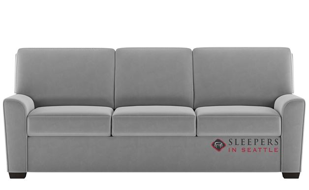 American Leather Klein Leather King Comfort Sleeper